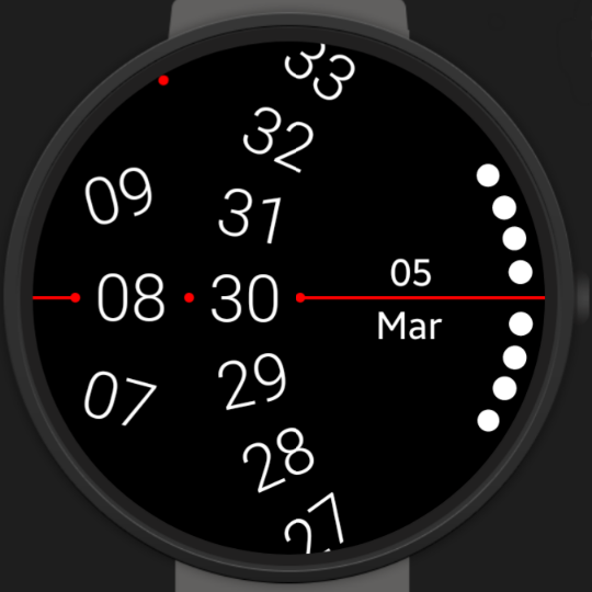 New watch face for March